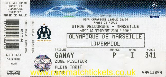 2008-09 cl grD m1 MARSEILLE 1 [LIVERPOOL] 2 (unused)